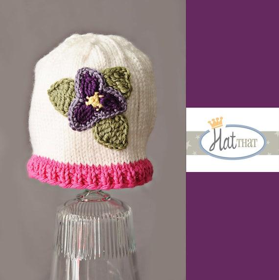 3-6 ماه RTS کلاه نوزاد -- کودک یکنوع عرقچین کوچک کهمحصلین برسر میگذارند گل -- کودک گره کلاه سفید ، صورتی ، بنفش ، سبز ، زرد -- سرپا نگه داشتن عکس نوزاد