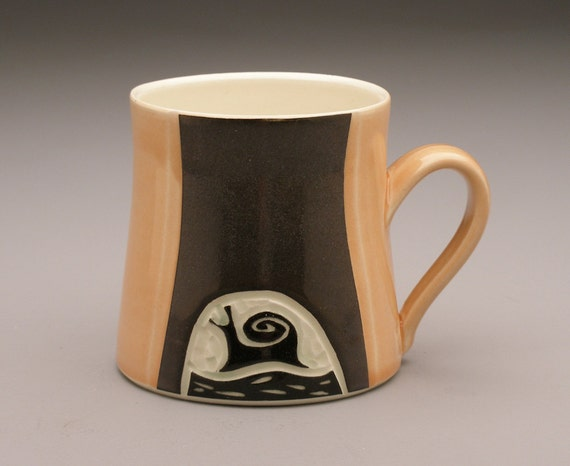 Snail & Fiddlehead Mug- Ruchika Madan