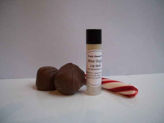 Mint Truffle - Lip Balm - One Tube