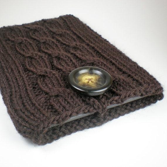 Nook Color Case / Nook cover / Nook Tablet sleeve in Espresso Brown