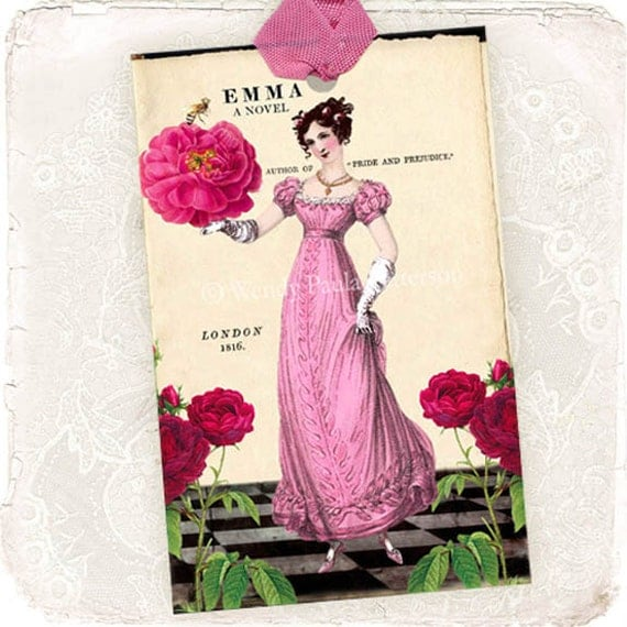 Jane Austen Emma A Novel Regency Gift Tags