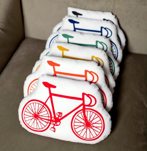 bicycle . organic stuffies . set of 3