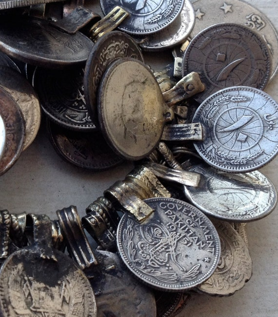 Pakistani Coins: Assemblage Supplies, Tribal Belly Dance