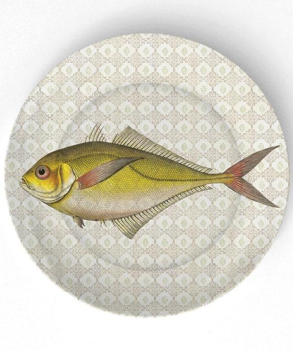 Sea Life Peixe IV - 1800 - 10 Placa de Melamina polegadas