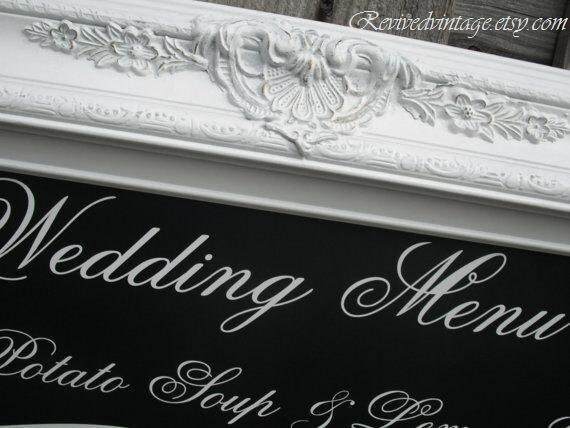 Wedding Seating Chart ESCORT CARD HOLDER Chalkboard Easel 44x32 ExTRA