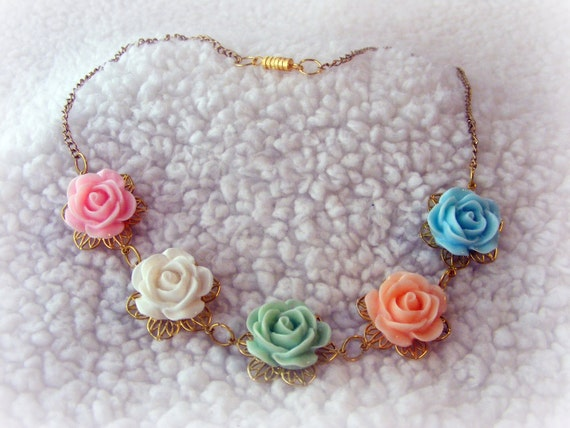 Necklace Vintage Spring