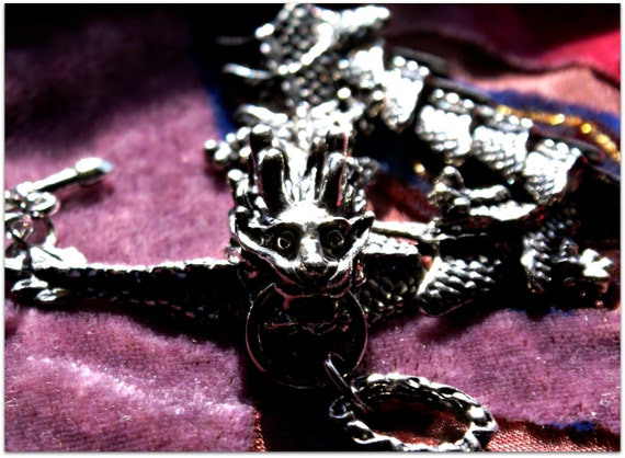 Vintage Magical Dragon Bracelet