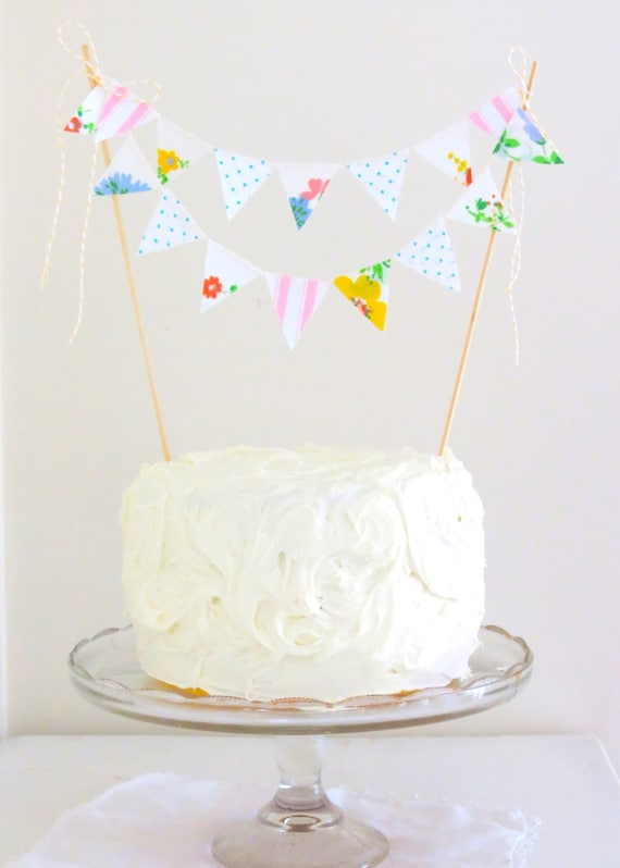 "Cake Bunting- ""Hello Dolly"""