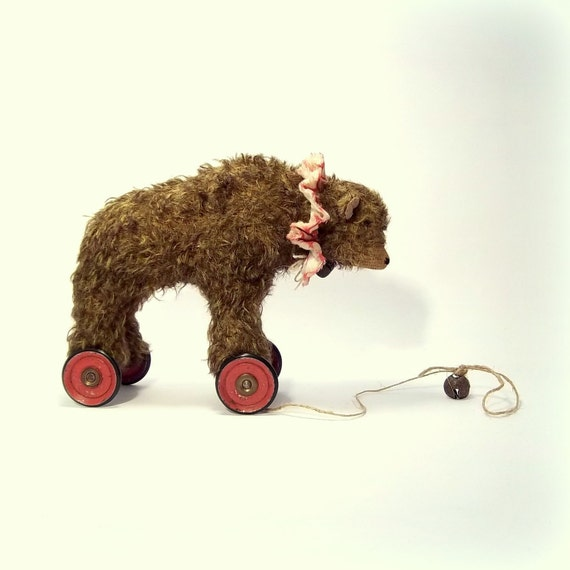 little old mohair circus bear