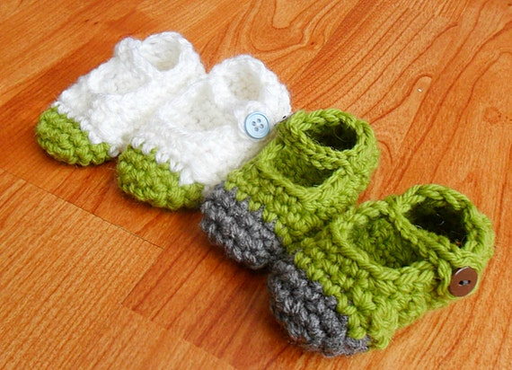 MJ Crochet Slipper (toddler/child) Custom Color