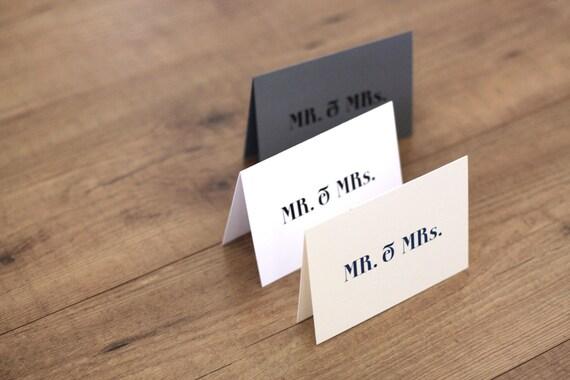 Printable / Mr. & Mrs. Vintage Modern Wedding Thank You Notecard  / (DIY)
