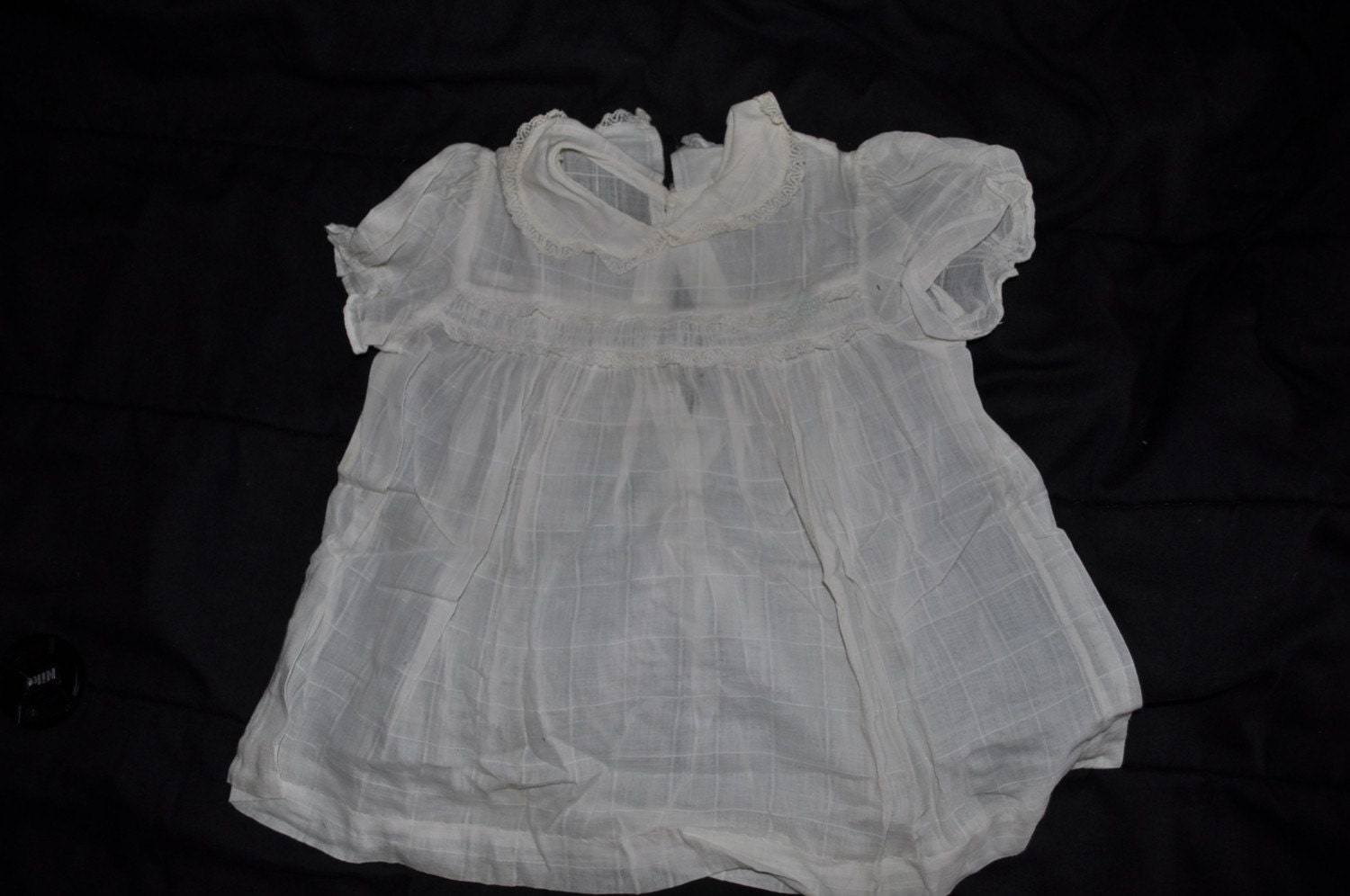 WHITE COTTON TODDLER DRESS The Dress Shop