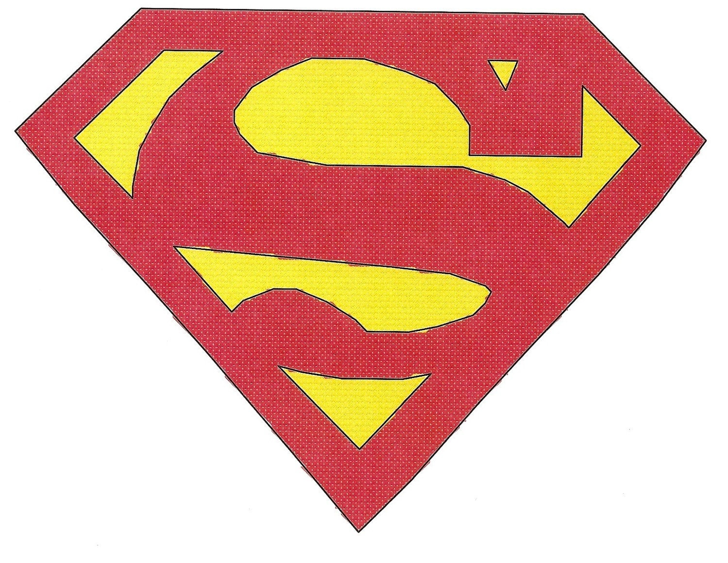 FREE CROCHET SUPERMAN INSIGNIA PATTERN - Crochet and ...