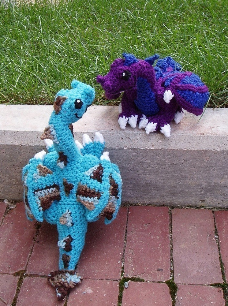 Easy Dragon Knitting Pattern : Dragon Pattern by kitsune creations Images - Frompo