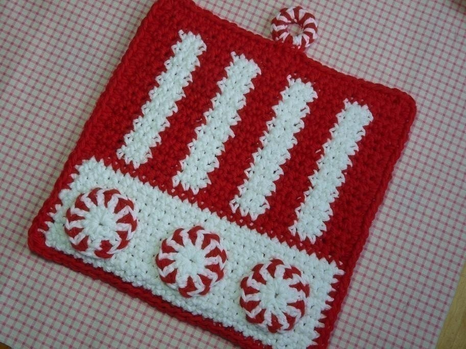 Amazon.com: Twenty Four Potholders to Crochet - Vintage Potholder