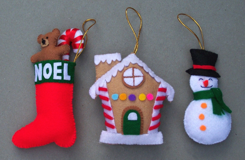 Patterns For Felt Ornaments Free Patterns
