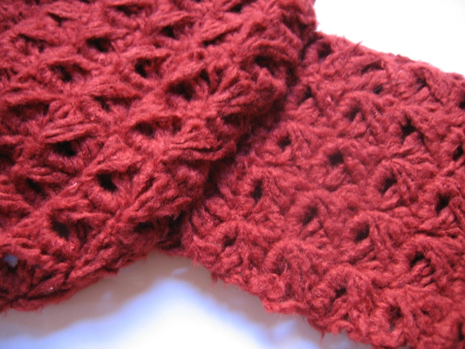 Crochet Pattern: Broomstick Lace Summer Scarf