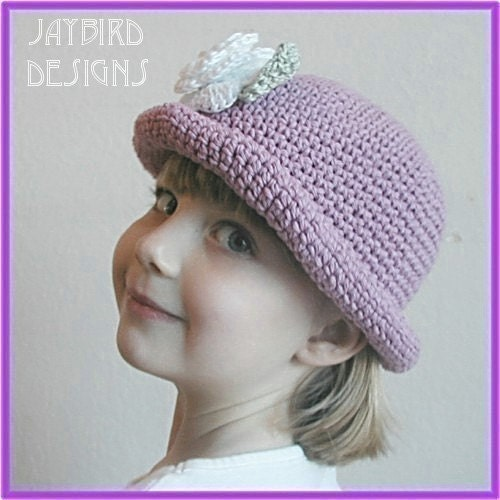 Crochet Geek - Crochet Hat with Brim - YouTube