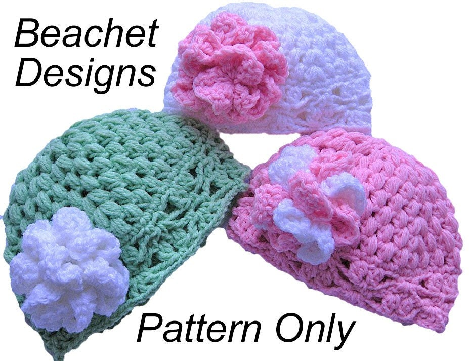 Crochet Pattern For Baby Football Beanie : BABY BEANIE CROCHET PATTERN ? Crochet For Beginners