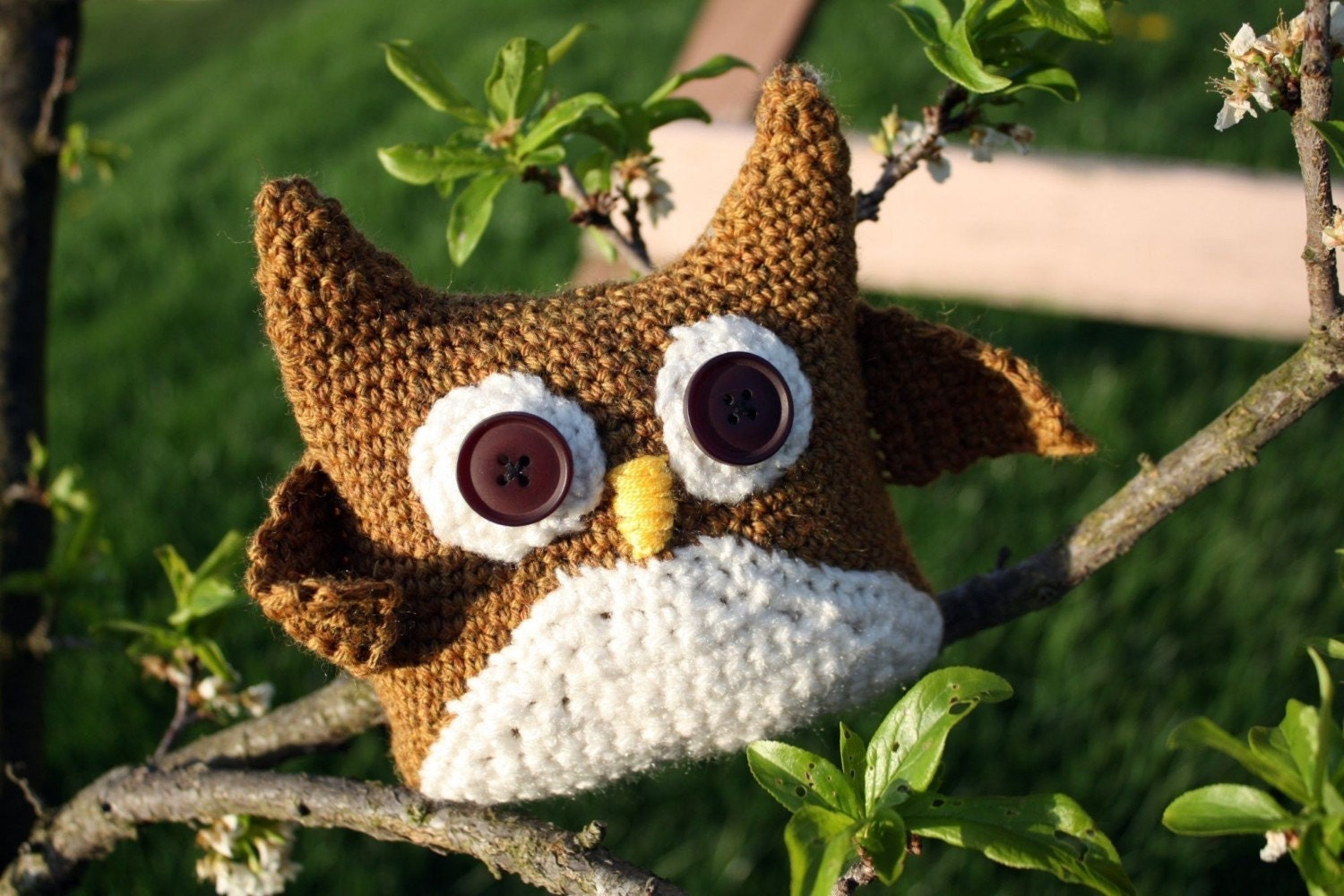 Owl Potholder Pattern - Free Crochet Pot Holder Pattern