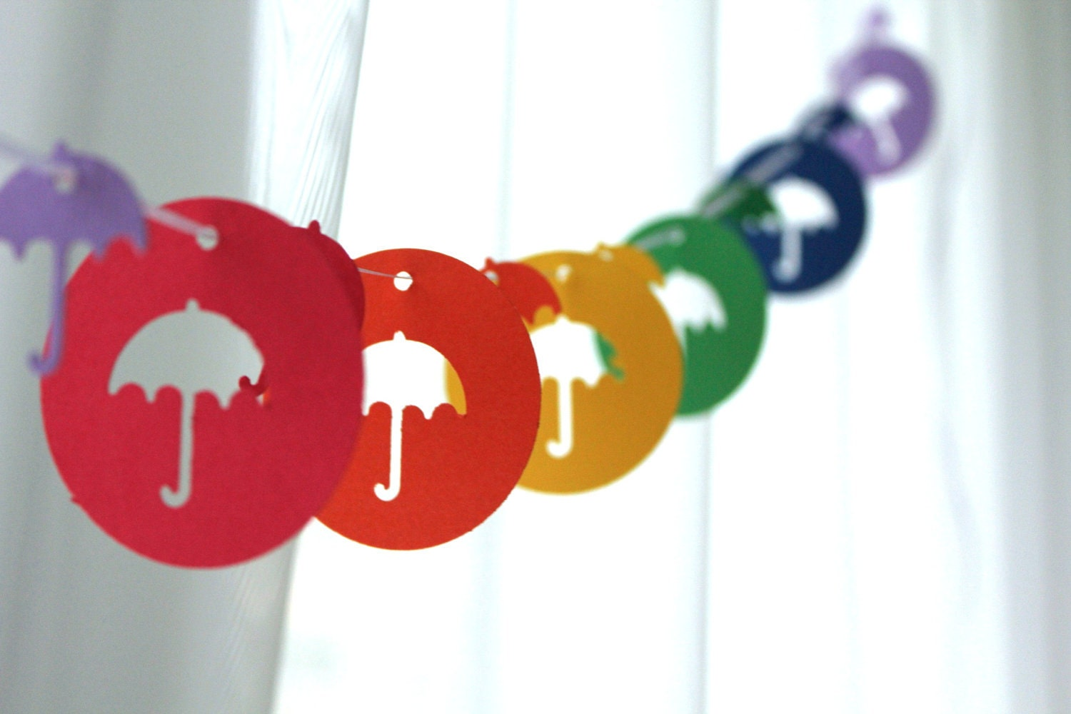 Umbrella Garland by GFetti
