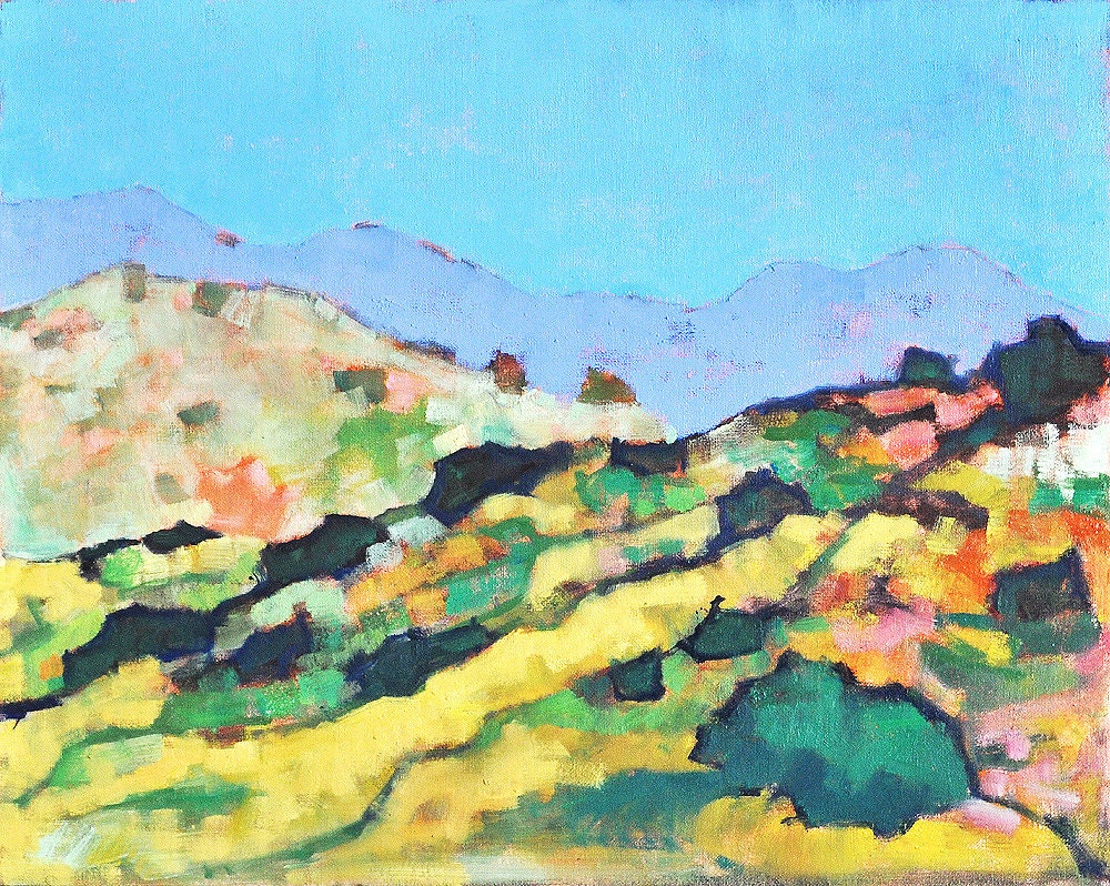 Southern California Mountains Landscape Painting