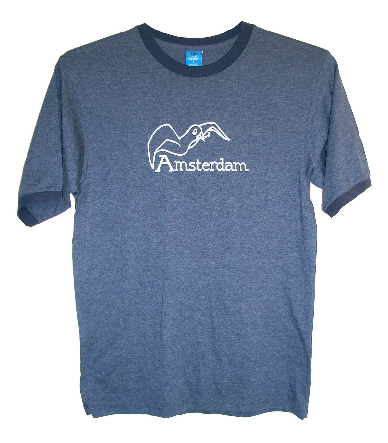 Amsterdam Flying High Smoking Bird (Adult S, M, L, XL). From OctoberBlue13