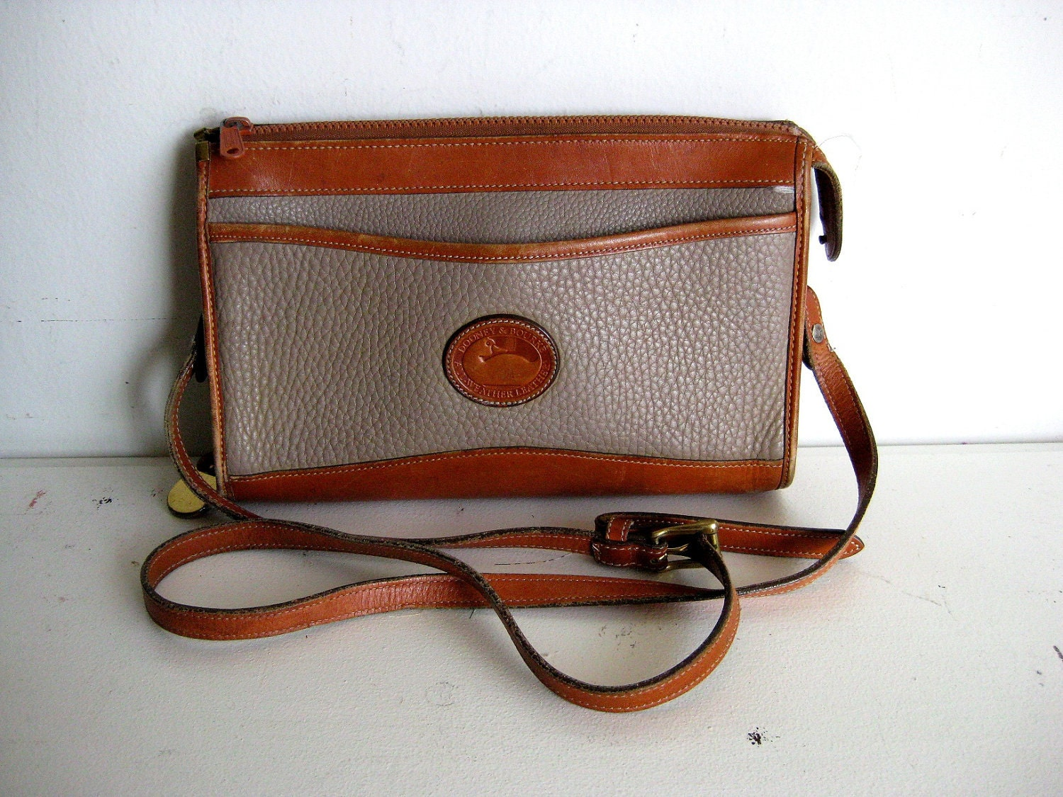 Dooney and Bourke Leather Purse Designer Vintage by MyGmasCloset