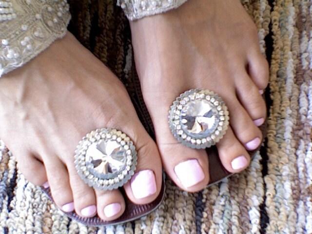 NEW The princess JASMINE toe plug wedding sandal From feesk