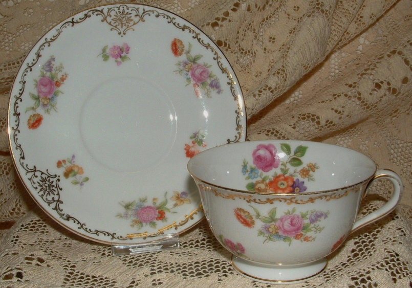 Marked Rose China, Made in Occupied Japan
