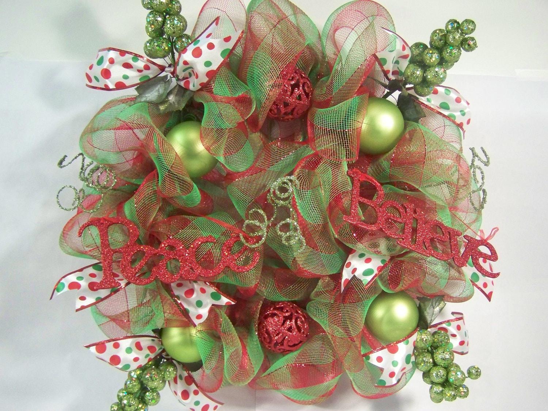 Make Bow For Top Of Christmas Tree