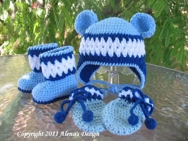 Crochet Baby Gloves Pattern : BABY MITTENS PATTERNS Free Patterns