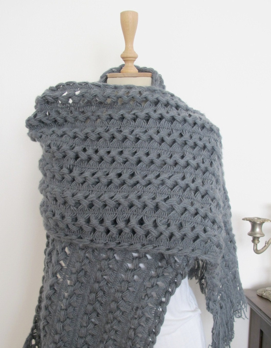 Crochet Patterns Shawls And Wraps : CROCHET ETERNITY PATTERN SCARF SHAWL WRAP Crochet Patterns