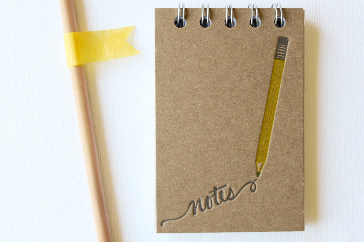 Pencil Note Letterpress Notebook