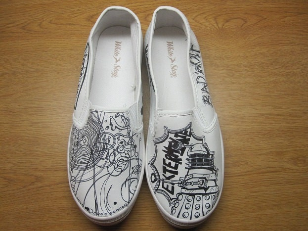 chaussures Doctor Who