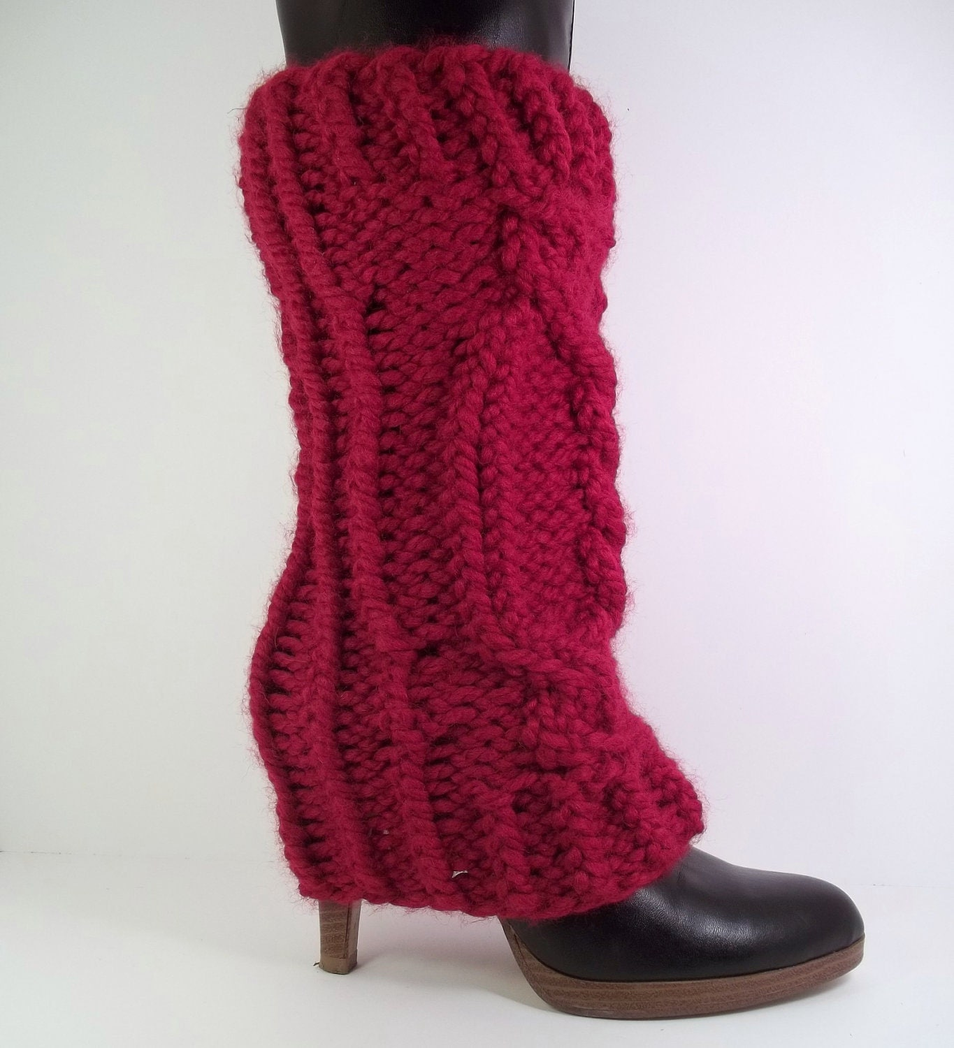 Ribbed Leg Warmers | FaveCrafts.com - Christma