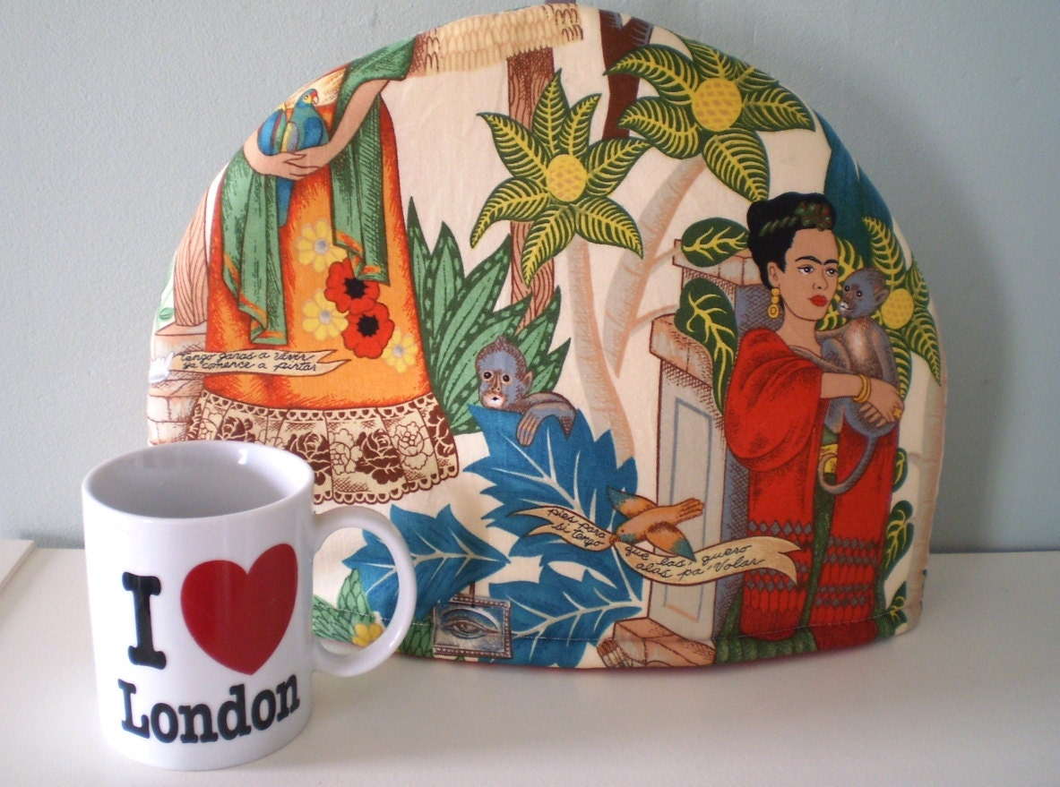 Frida Kahlo Tea Cosy Cozy mexico artist