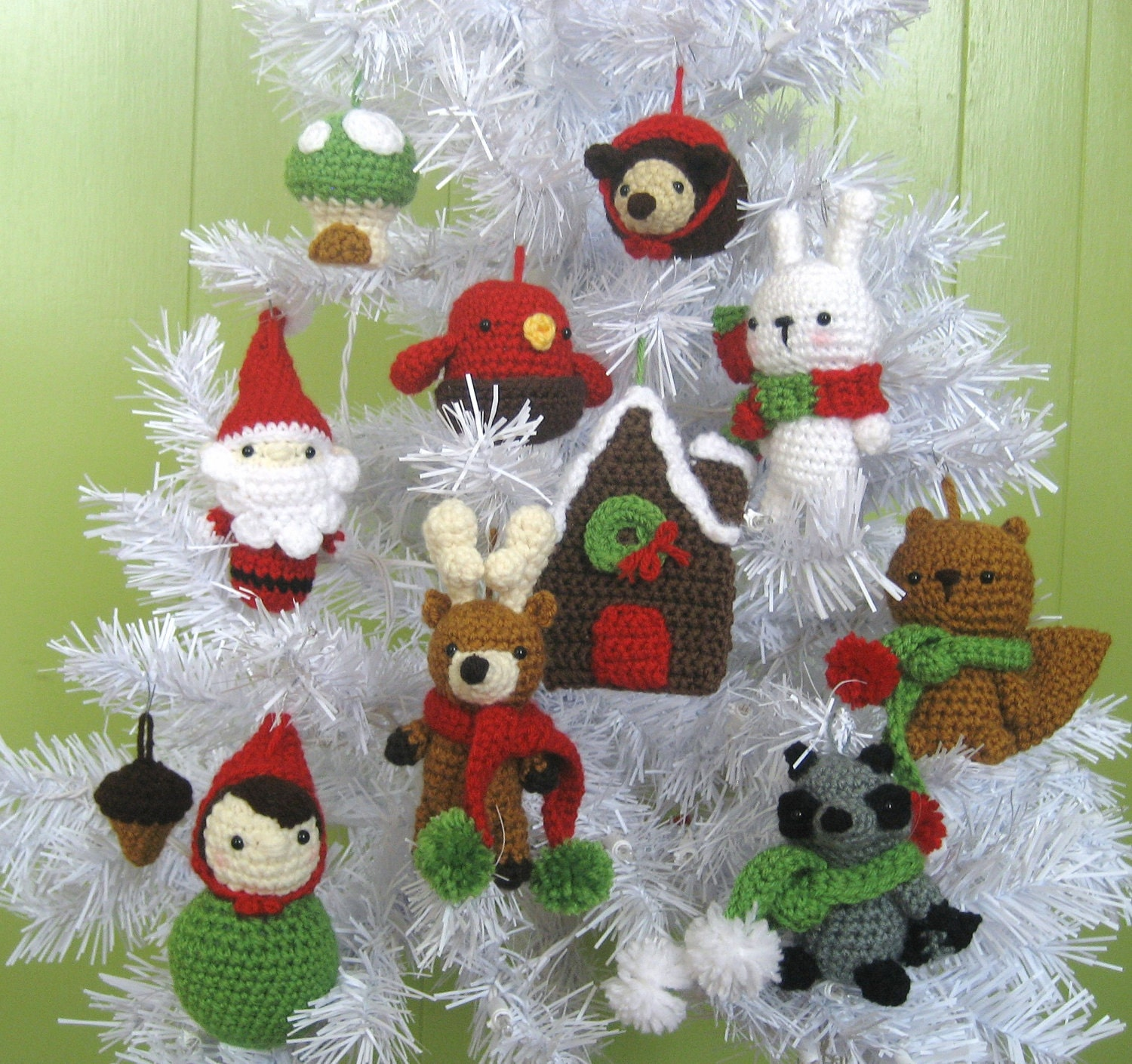 Free Thread Crochet Christmas Ornaments Patterns : Crochet Christmas Ornaments Pattern Free Patterns For ...