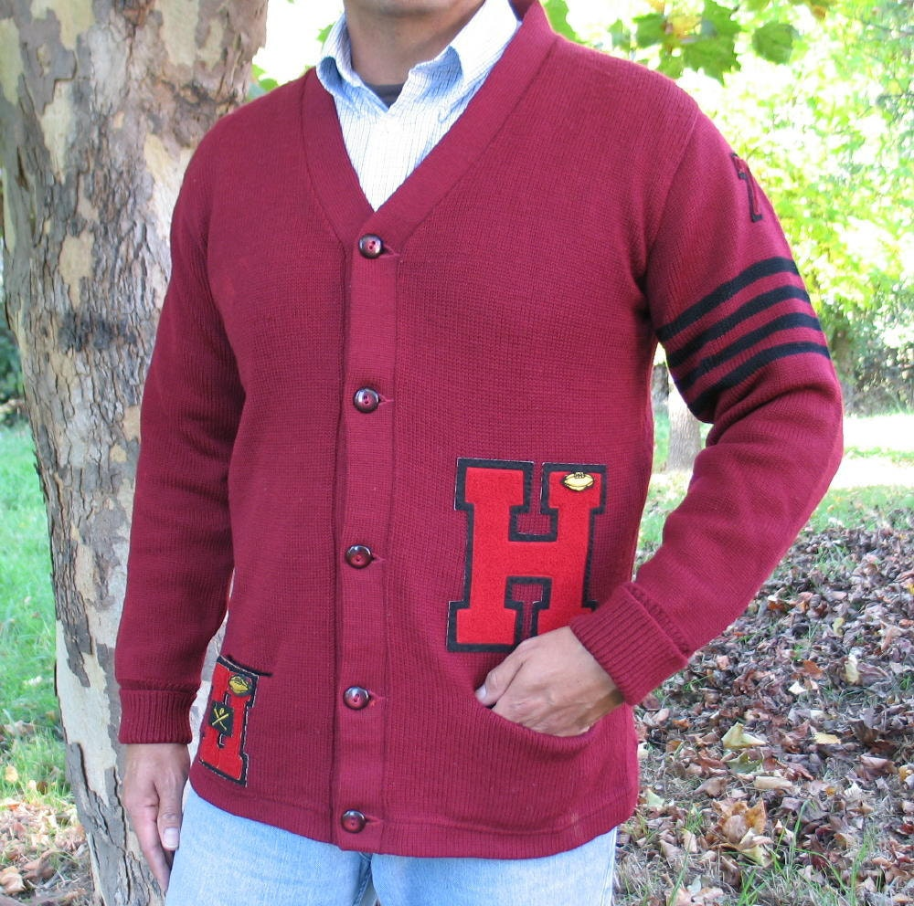 Vintage Letter Sweaters 115