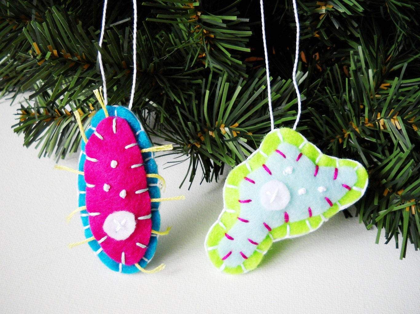 Celling fast: tree ornaments!