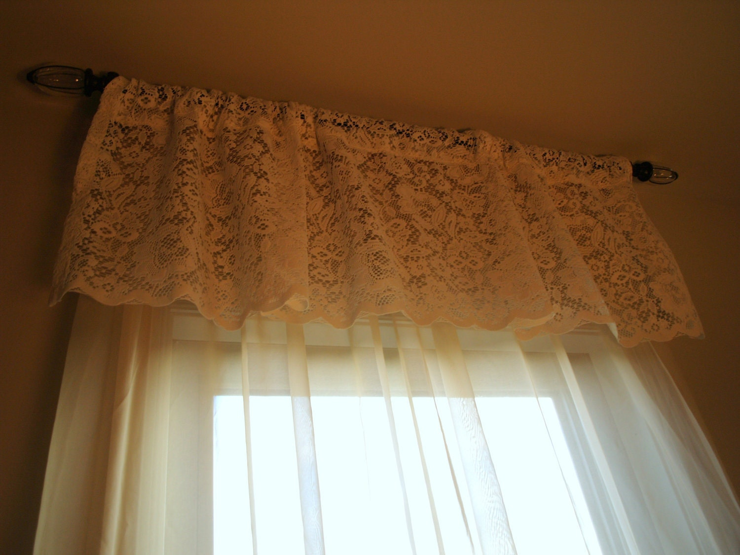 French Country Lace Net Curtains Curtains Amp Blinds