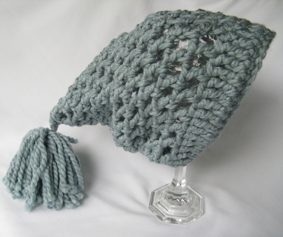 Crochet Hat Pattern For Chunky Yarn : Yarn Obsession: Chunky Crochet Slouchy Hat