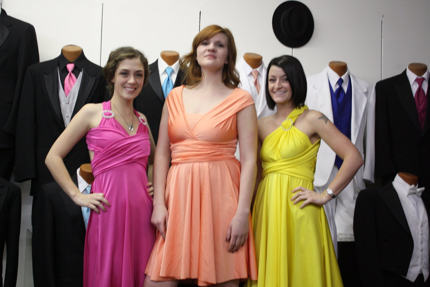 Fuschia Dresses In Plus Size For A Wedding