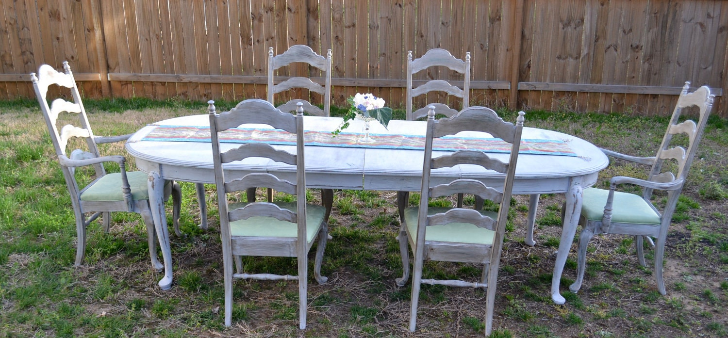 1000 Images About Painted Dining Sets On Pinterest